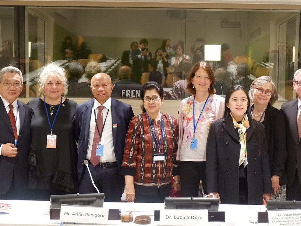 Indonesia berbagi pengalaman penaggulangan TBC di Markas Besar PBB New York