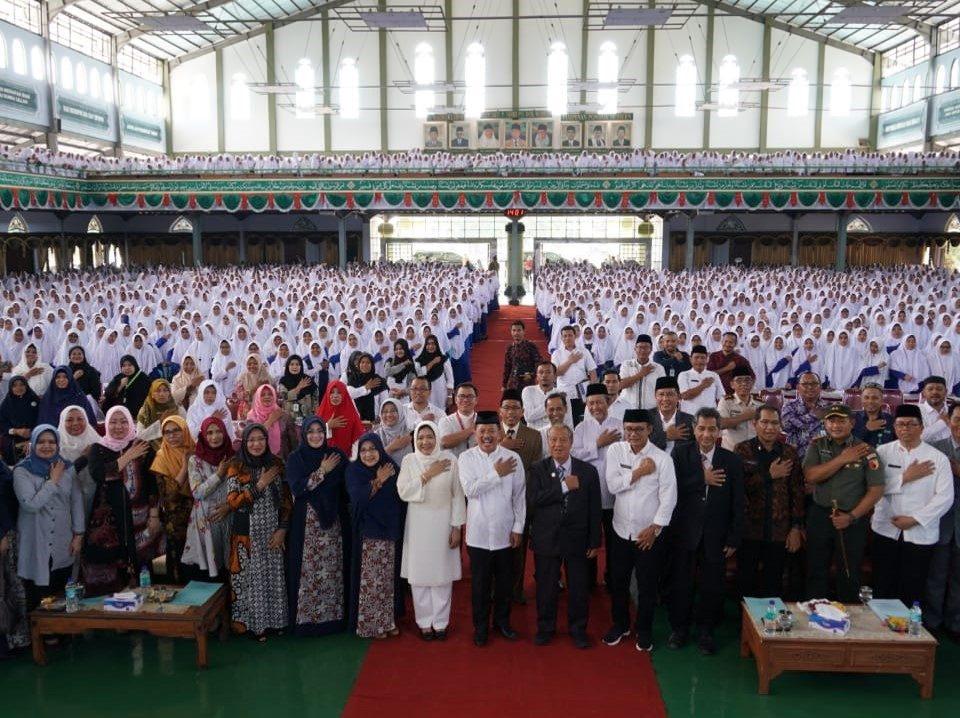 Skrining TBC Pesantren Gontor Indonesia 2019